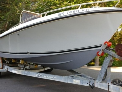 Small Boats - 1986 Aquasport 20 Osprey CC for sale in Newburyport, Massachusetts at $7,500