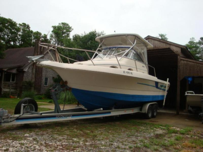 Small Boats - 1998 Pro-Line 2610 Sport Fisherman Walk Around for sale in Buxton, North Carolina at $35,900