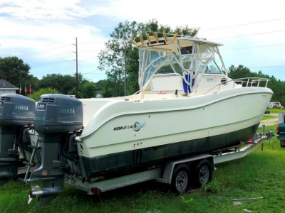 2000 World Cat 266 SC for sale in Hubert, North Carolina at $38,500