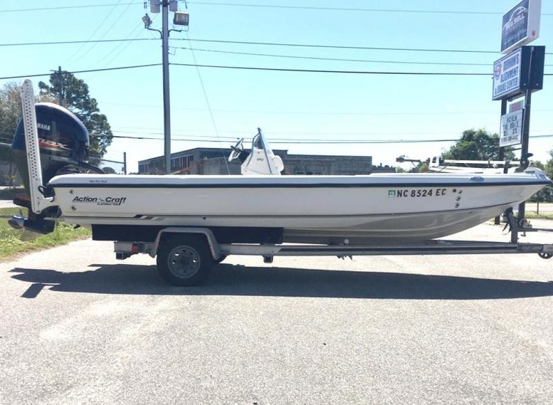 2004 Action Craft 1890 Flatsmaster for sale in Wilmington, North Carolina (ID-44)