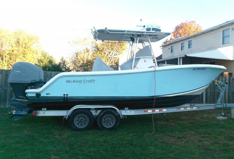 2007 McKee Craft 24 Freedom for sale in Wildwood, New Jersey (ID-20)