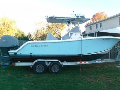 2007 McKee Craft 24 Freedom for sale in Wildwood, New Jersey at $55,000