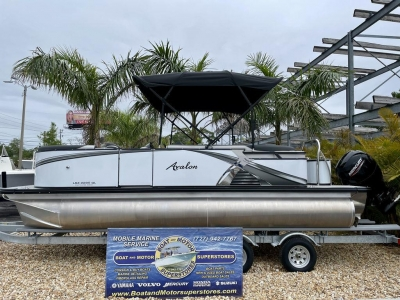 2021 Avalon LSZ Quad Lounger 22 FT for sale in Palm Harbor, Florida at $52,945