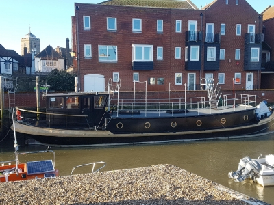 Power Boats - 1910 Custom Designed Luxemotor 69 (lowered) for sale in Sandwich, Kent at $255,379