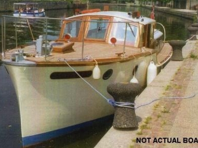 Power Boats - 1946 Custom Designed Stebbings 33 (lowered) for sale in Sandwich, Kent at $3,542