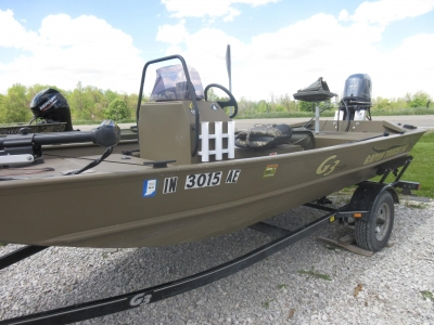 Power Boats - 2017 G3 16 CC Jet for sale in Rockville, Indiana at $16,999