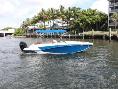 Power Boats - 2018 Glastron GTD 220 for sale in Palm Beach, Florida at $49,990