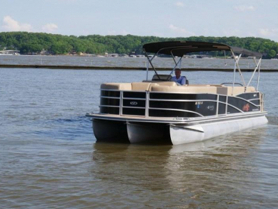 Power Boats - 2014 Harris FloteBote Grand Mariner SEL 250 for sale in Lake of the Ozarks, Missouri at $54,900