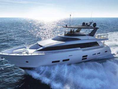 Power Boats - 2020 Hatteras M75 Panacera for sale in Stuart, Florida