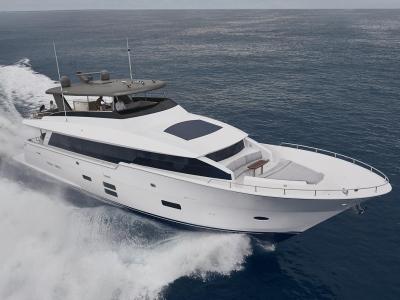Power Boats - 2020 Hatteras M90 Panacera for sale in Stuart, Florida