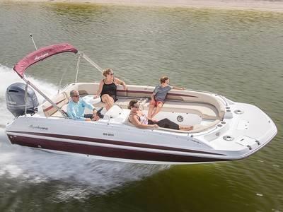 2021 Hurricane SunDeck Sport 201 OB for sale in Leesburg, Georgia