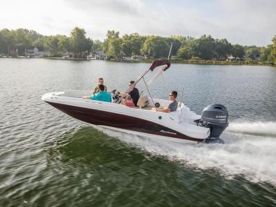 2022 Hurricane SunDeck Sport 185 OB for sale in Duncannon, Pennsylvania