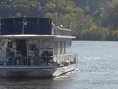 Power Boats - 1977 Lazy Days Houseboat for sale in La Crosse, Wisconsin at $59,900