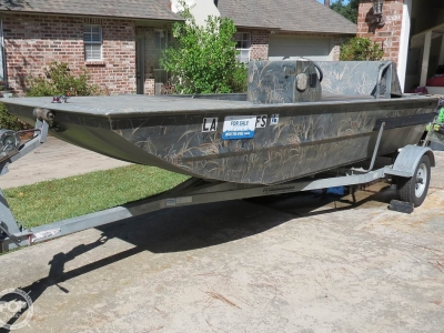 2007 Leblanc Boat Works 16 Custom Duck hunter for sale in Lafayette, Louisiana at $11,500