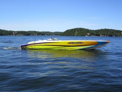 2004 Skater 46 Custom Race Boat for sale in Osage Beach, Missouri at $299,950