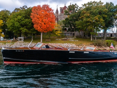 1946 Stephens Brothers Triple Cockpit Runabout for sale in Clayton, New York at $295,000