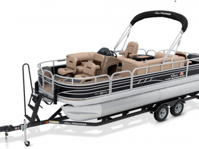 Power Boats - 2020 Sun Tracker Fishin' Barge 20 DLX for sale in St. Cloud, Minnesota at $22,620