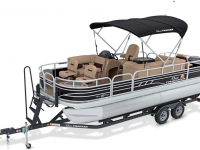 2020 Sun Tracker Fishin' Barge 20 DLX for sale in St. Cloud, Minnesota (ID-164)